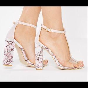 Misguided Block heels